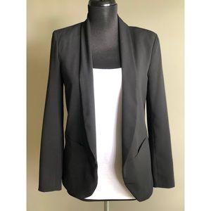 H&M Drape Front Blazer